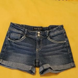 Childs jean shorts